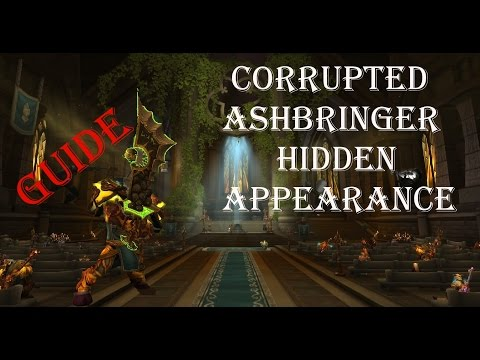 Legion-How To Corrupted Ashbringer Hidden Skin FULL Walkthro