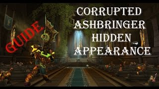 Legion-How To Corrupted Ashbringer Hidden Skin FULL Walkthrough
