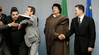 The Unseen Pics of Colonel Gaddafi