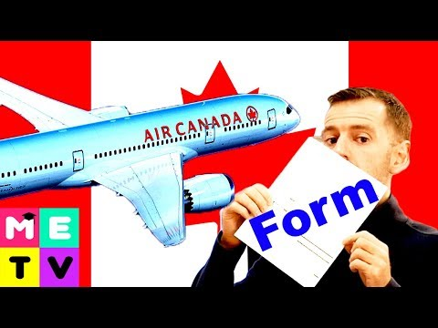 Arriving In Canada 😃😃😃 | Customs Form | How To Complete!