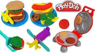 Winx Stella Barbie ile Hamburger Yemeğe Gidiyor | Oyun Hamuru Play Doh Hamburger Tabağı | EvcilikTV