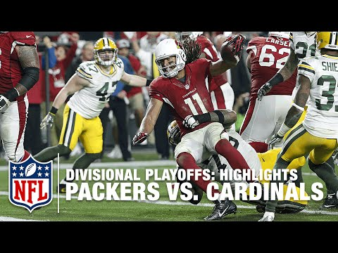 Packers vs. Cardinals | Divisional Playoff Highlights | NFL