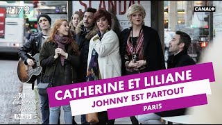 Prions pour Johnny Hallyday ! - Catherine et Liliane - CANAL+