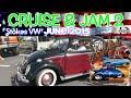 June Stokes VW TV Show | Cruise & Jam 2 - Car Show / Music: Plane Jane