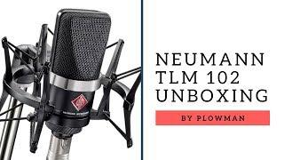 Neumann TLM 102 bk Studio Set Unboxing