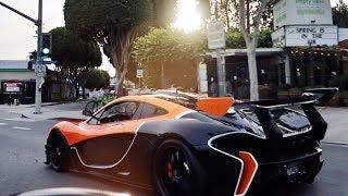 Insane $4million McLaren P1 GTR Driving In LA