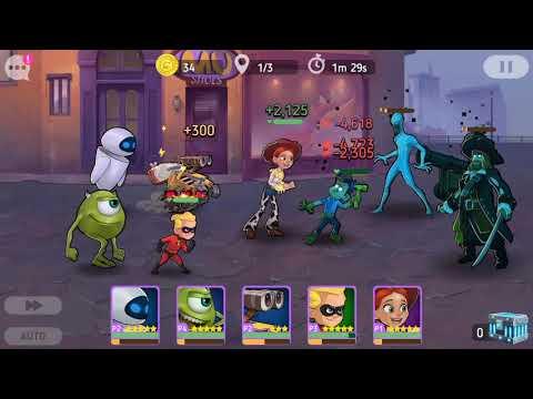 Disney Heroes Battle Mode Eve And Wall-E |