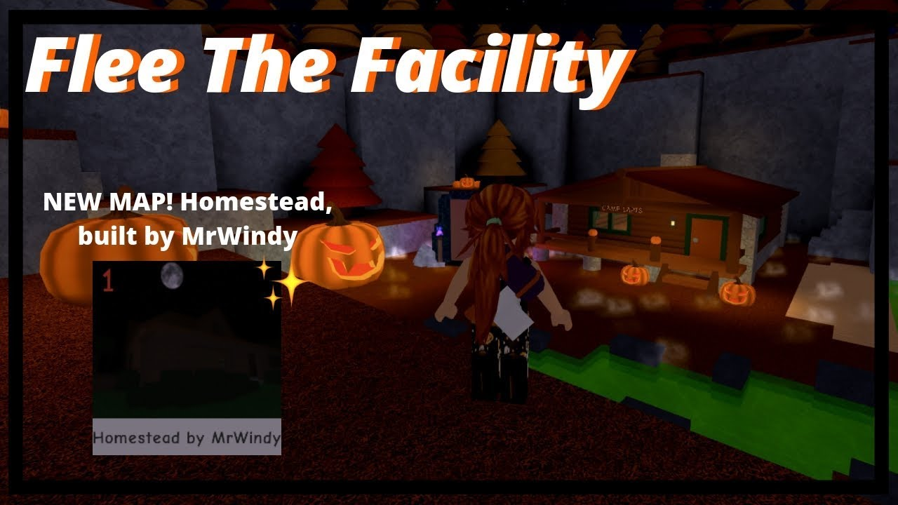 Halloween Flee The Facility Update New Map Roblox Gameplay