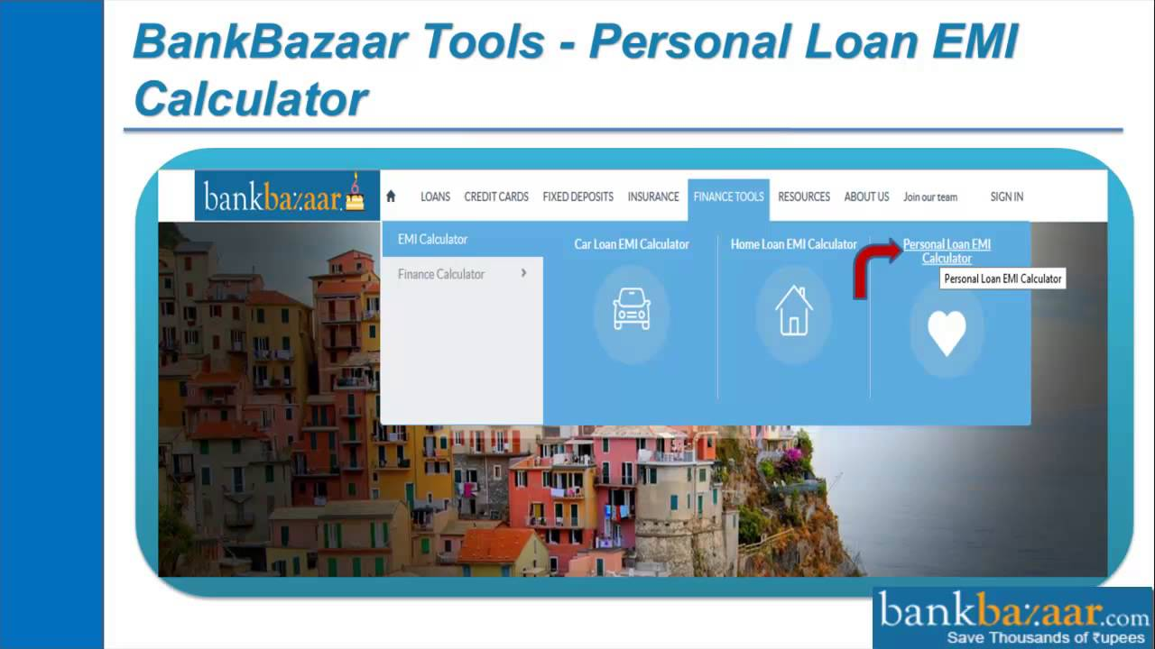 Personal Loan Emi Calculator Calculate Monthly Emi In 10 Seconds