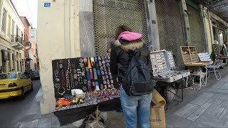 Shopping in Athens, Greece - Ermou Street
