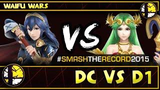 STR2015 - DC (Lucina) Vs D1 (Palutena) SSB4 Waifu Wars - Smash Wii U - Smash 4