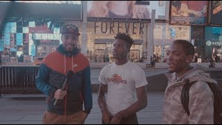 NY NBA Fans React to Liangelo Ball stealing In China & Lebron Falling off?