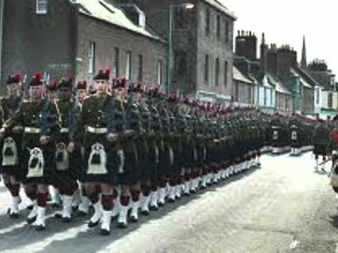 Highland Laddie, The Royal Scots Dragoon Guards