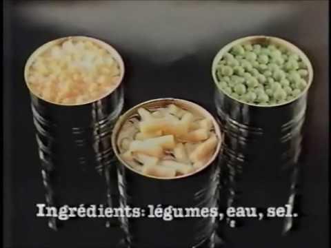 Pub Québec - Gouvernement du Québec et les Légumes en Conserve