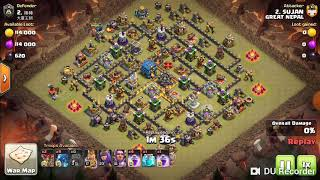 Max electro dragon destroyed town hall 12 max base