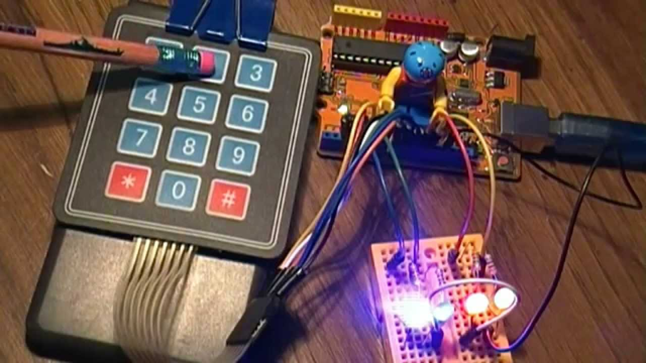 Arduino Project 15 - A 4x3 Matrix Keypad Switch