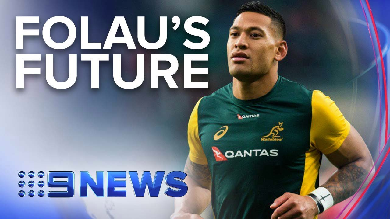 Israel Folau Issued A Breach Notice By Rugby Australia