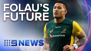 Israel Folau Issued A Breach Notice By Rugby Australia | Nine News Australia