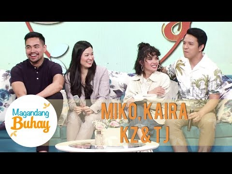 Miko, Kaira, KZ And TJ On Their Respective Project Me | Magandang Buhay