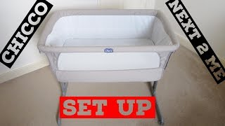 Chicco Next2Me Crib - How to Set Up Crib And Easy Packing Away In Travel Bag