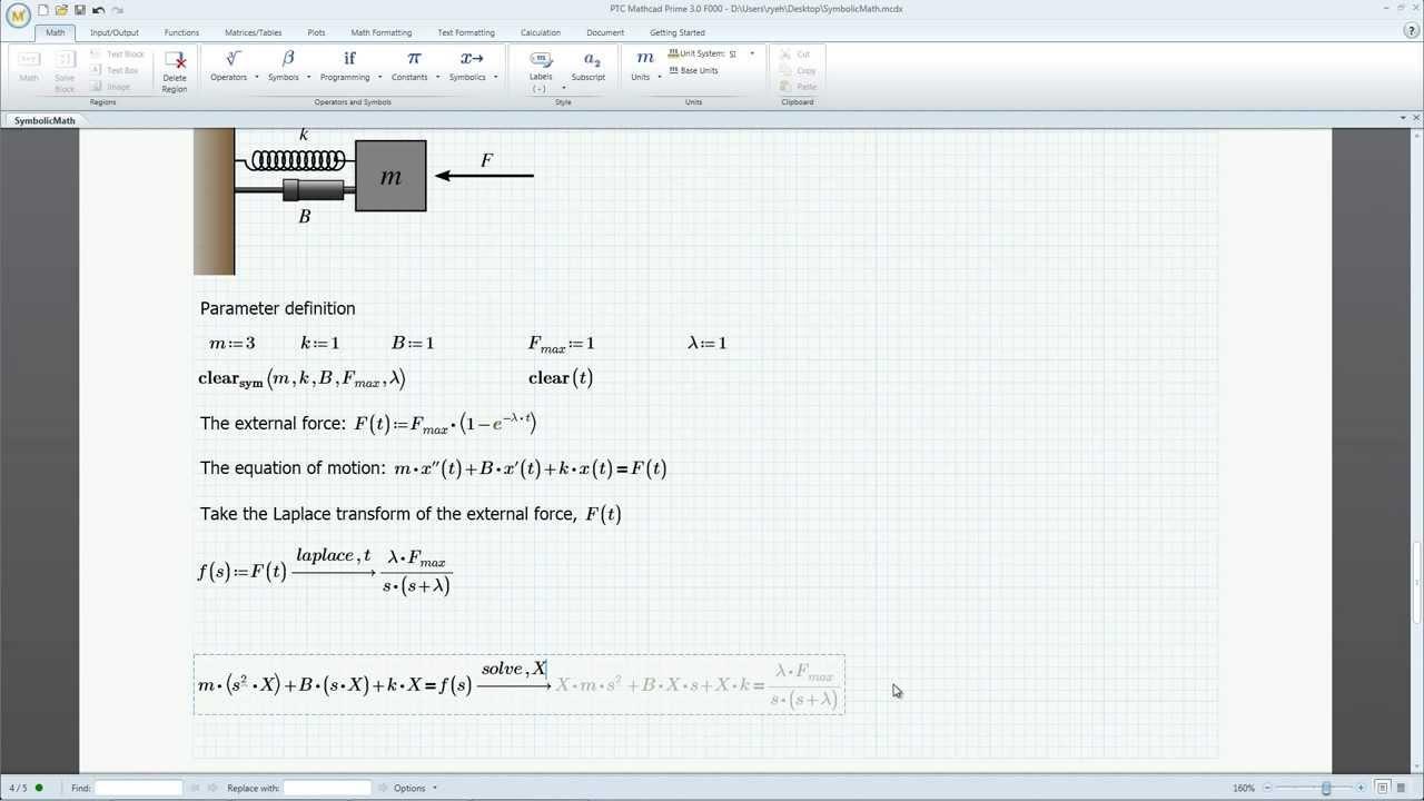 PTC Mathcad Prime 3 0 - Symbolics