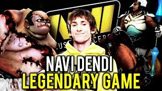 NaVi Dendi Pudge - MOST LEGENDARY GAME EVER - Dota 2