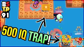 Spring TRAP CHEESE - INFINITE KILLS?! Top Plays in Brawl Stars 91