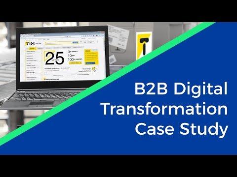 Complete Digital Transformation B2B - TIM Case Study