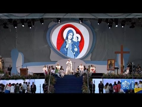 Opening Ceremony of World Youth Day in Panama with Pope Francis 24 January 2019 HD