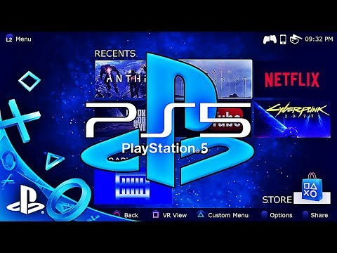 PlayStation 5 - First Look System Software | PS5 | Concept By Captain Hishiro