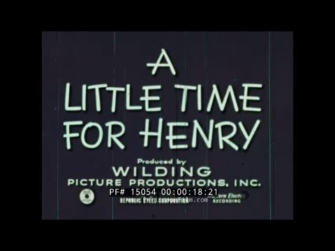 """""""THE LITTLE TIME FOR HENRY"""" 1950s TIME MANAGEMENT CARTOON  15054"""