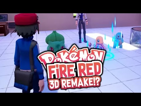 POKEMON FIRE RED 3D GAMEPLAY AND DOWNLOAD IN HINDI