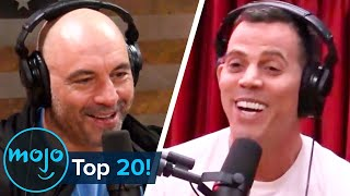 Top 20 Most Entertaining Joe Rogan Experience Guests