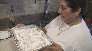 Angelo's Mom Makes Raisin Bread Coffee Cake