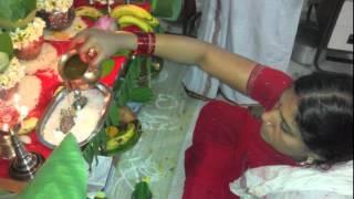vaibhav lakshmi vratha pooja Vidhanam (Process) by Padmaja Kanaparthi