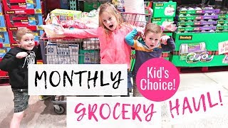 January 2019 Monthly Grocery Haul and Freezer Cooking Meal Plan