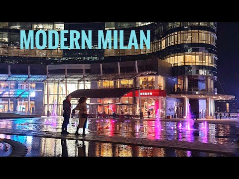 The Modern District of Milan《Porta Nuova》Italy