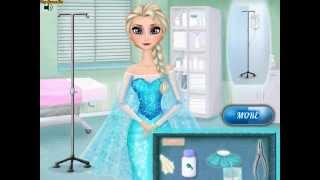 Frozen Heal Elsa (Холодное сердце: лечить Эльзу) - прохождение игры