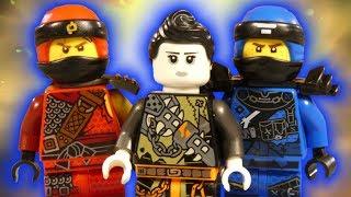 LEGO NINJAGO HUNTED FAITH AND THE NINJAS