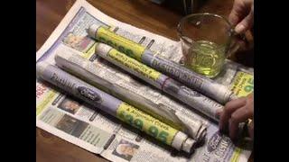 Paper Log Rolls | Fire Starter