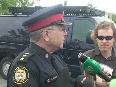 LRAD Use In Toronto 2 to 5 Seconds-It Is NOT a Use of Force Option For Police-G20