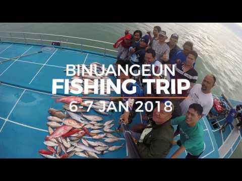 BINUANGEUN FISHING TRIP - PAGUYUBAN MANCING JAKARTA