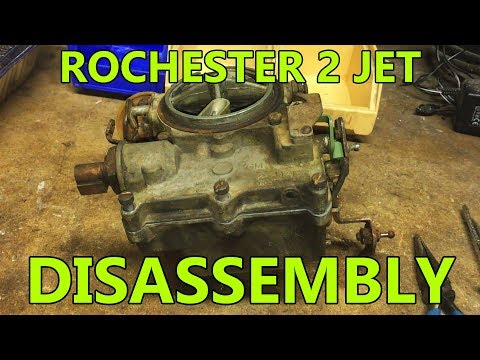 Rochester 2 Jet 2G 2GC 2GV Disassembly for Rebuild