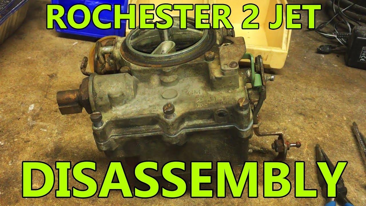 Rochester 2 Jet 2g 2gc 2gv Disassembly For Rebuild