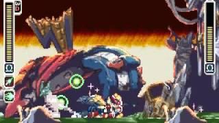 Megaman Zero 3 Omega Zero VS Omega Zero
