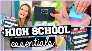 Back to School: High School Advice + Essentials/Giveaway!
