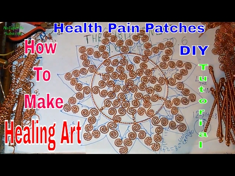 How to make health patches with coils part 4 - tutorial - healing art with Keshe  plasma technology