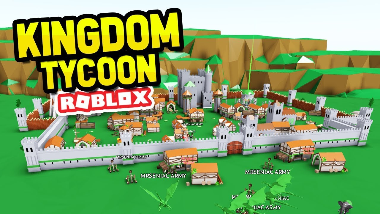Roblox Robine Militia Roblox Kingdom Tycoon Youtube