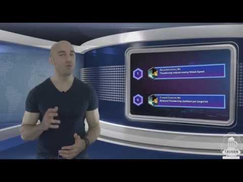 видео: hots level 10 - Мурадин, Обзор и Гайд (rus)