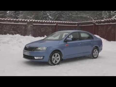 Peter Geitelin koeajossa Skoda Rapid - Nelonen Start! - kokonainen jakso esitetty 29.1.2013